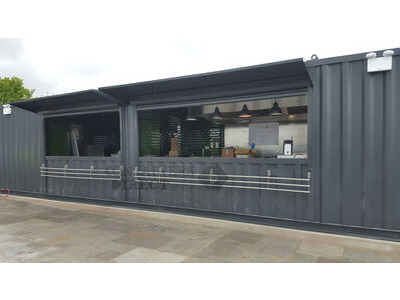 CONTAINER CONVERSIONS 40ft x 10ft kitchen and bar conversion CS30951