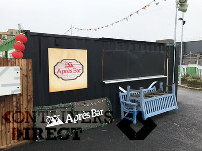 Shipping Container Conversions Pop up bar unit CSBU01