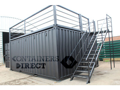 CONTAINER CONVERSIONS 20ft x 16ft pop up bar CS45502
