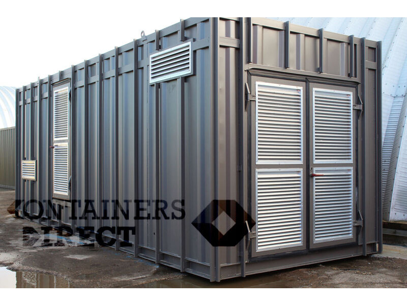 CONTAINER CONVERSIONS 24ft plant room CS39447 click to zoom image