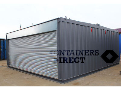 Container Conversions 20ft x 20ft garage unit