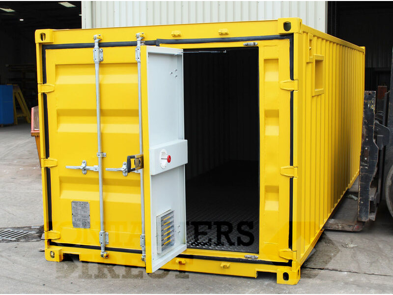 CONTAINER CONVERSIONS 20ft x 8ft x 7ft2 weed spraying unit CS35012 click to zoom image