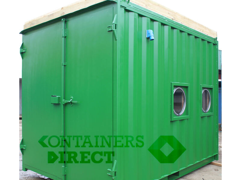 Shipping Container Conversions 10ft Eco Classroom click to zoom image
