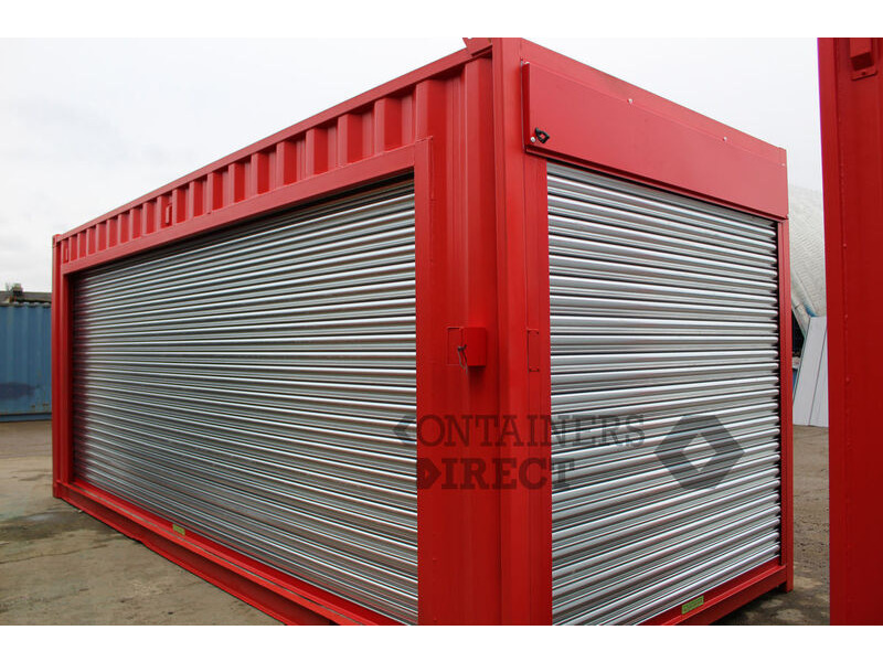 CONTAINER CONVERSIONS 2 x 20ft pop event units click to zoom image