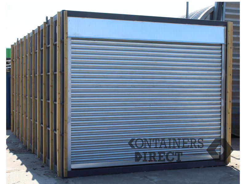 CONTAINER CONVERSIONS 20ft x10ft bespoke CarTainer click to zoom image