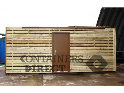 Shipping Container Conversions 20ft with sliding roof