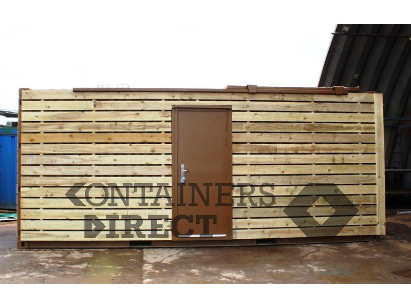 CONTAINER CONVERSIONS 20ft with sliding roof CS51597 click to zoom image