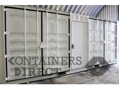 Shipping Container Conversions 30ft chemical store