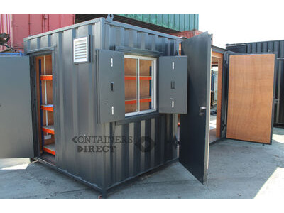Shipping Container Conversions 20ft office-storeroom