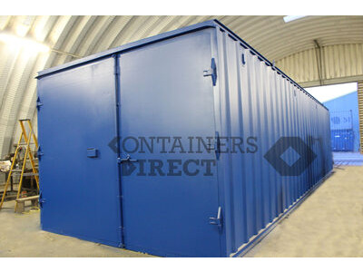 Shipping Container Conversions 40ft x 12ft x 9ft6 ply lined
