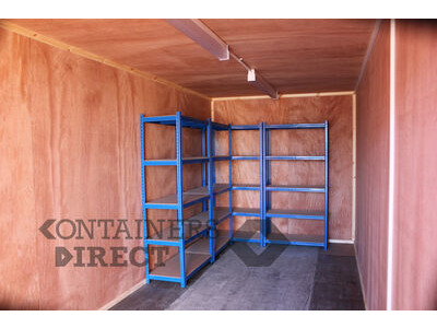 Shipping Container Conversions 25ft cladded and lined