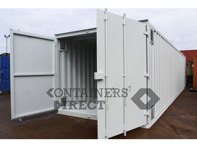 Shipping Container Conversions 40ft x 10ft chemical store