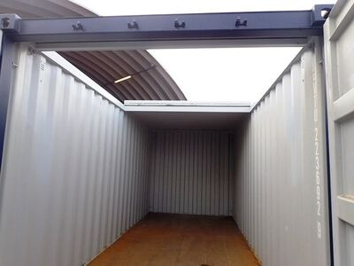 Shipping Container Conversions 30ft with sliding roof