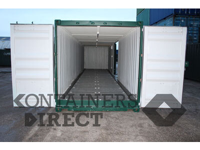 Shipping Container Conversions 40ft Kite with side door