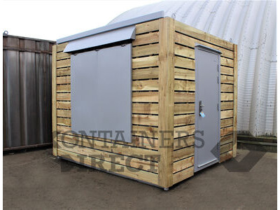 Shipping Container Conversions 10ft pop up catering unit