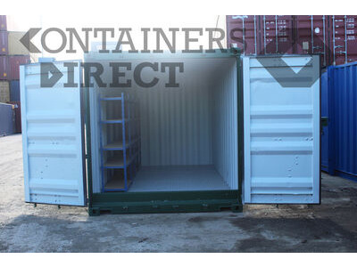 Shipping Container Conversions 15ft Hawk chemical store