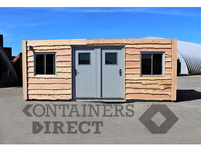 Shipping Container Conversions 20ft + 10ft wildlife enclosures