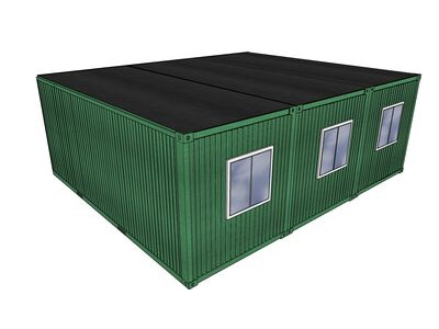 Shipping Container Conversions 20ft x 24ft StudyBox classroom