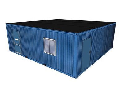 Shipping Container Conversions 24ft x 24ft StudyBox classroom