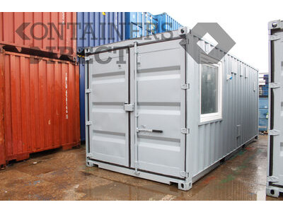 Shipping Container Conversions 2x 20ft science laboratories CS57302