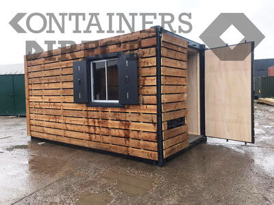 Shipping Container Conversions 15ft with ply lining