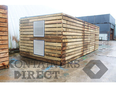 Shipping Container Conversions 25ft x 11ft generator room