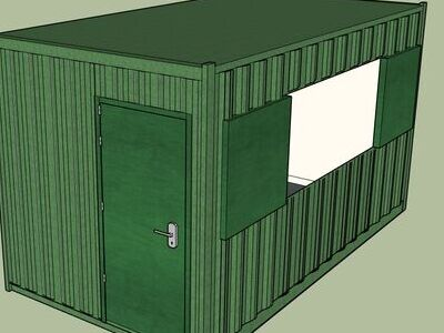 Shipping Container Conversions 15ft MenuBox