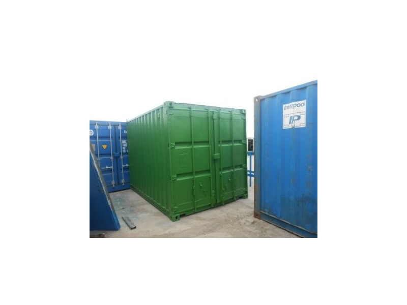 SHIPPING CONTAINERS 10ft original doors 36722 click to zoom image