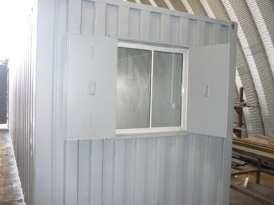 Shipping Container Conversions 30ft Conversion