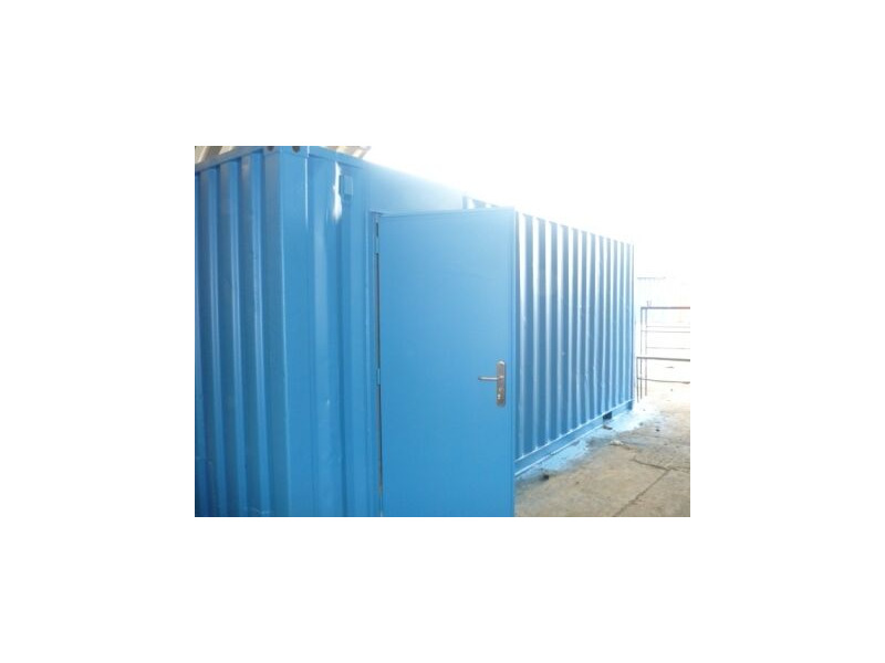 CONTAINER CONVERSION CASE STUDIES 20ft Workshop CS22338 click to zoom image