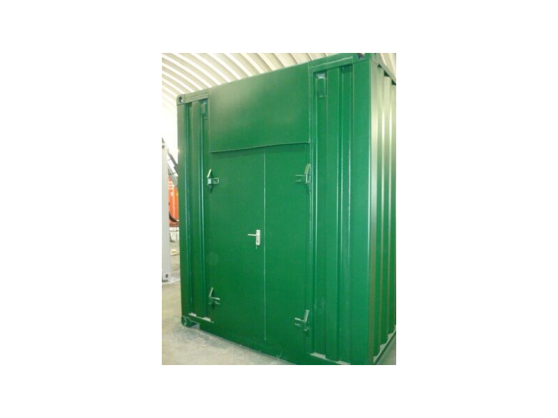 CONTAINER CONVERSION CASE STUDIES 20ft Biomass click to zoom image