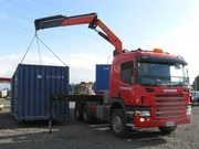 Delivery of Your Shipping Container