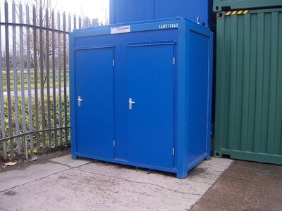TOILET CABINS 8ft double toilet cabin 22509 click to zoom image
