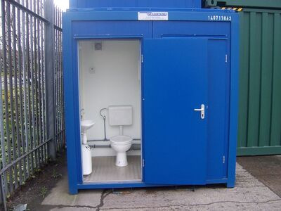 TOILET CABINS 8ft double toilet cabin 22509