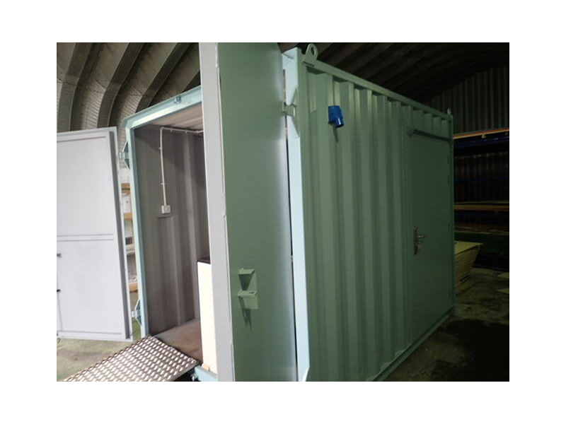 CONTAINER CONVERSION CASE STUDIES 10ft Ticket booth CS25991 click to zoom image