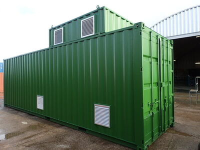 Shipping Container Conversions 30ft boiler house