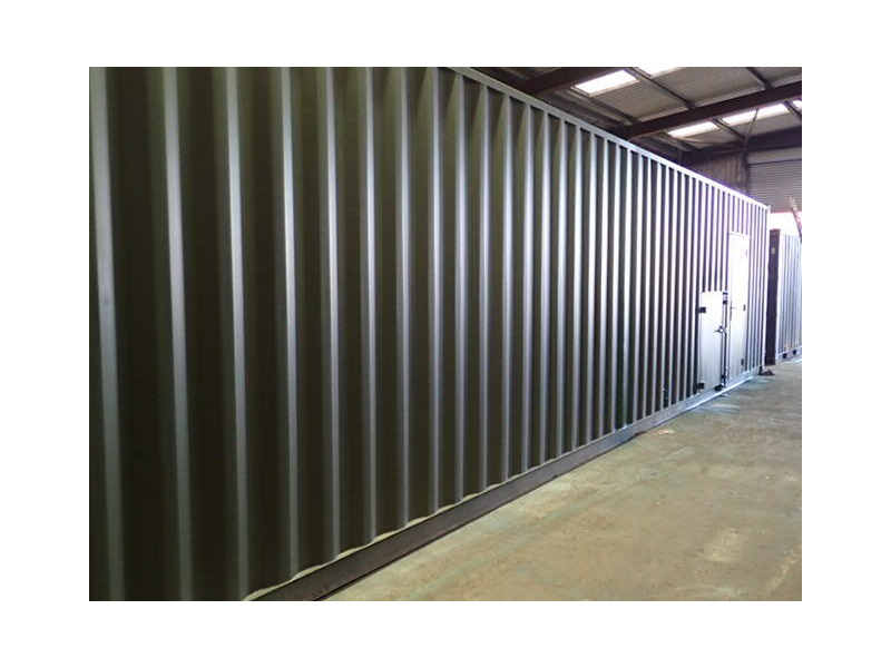 CONTAINER CONVERSION CASE STUDIES 40ft Biomass click to zoom image