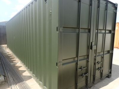 CONTAINER CONVERSION CASE STUDIES 30ft tunnel, ply lined