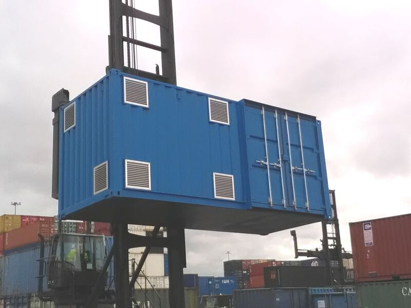CONTAINER CONVERSION CASE STUDIES 20ft Falcon CS30073 click to zoom image