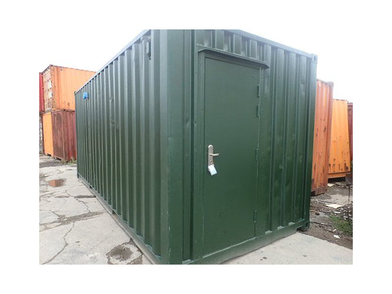 CONTAINER CONVERSION CASE STUDIES 20ft ply lined with non slip floor plate CS30307 click to zoom image