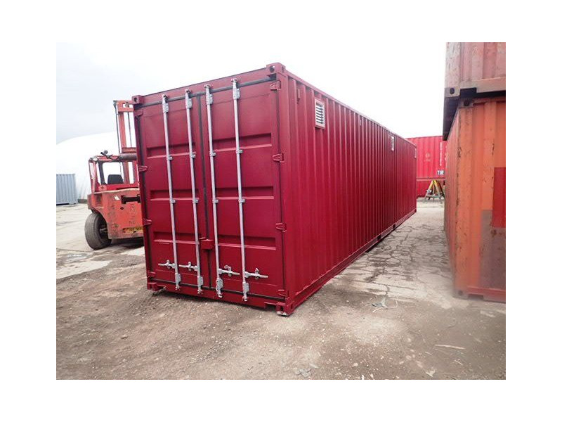 "CONTAINER CONVERSION CASE STUDIES 40ft high cube with ""lid"" CS31346 click to zoom image"