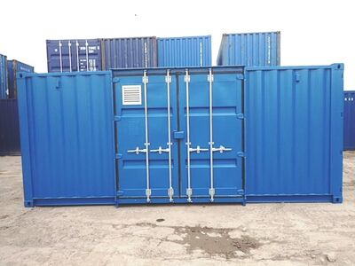 Shipping Container Conversions 20ft Falcon Chemical Store