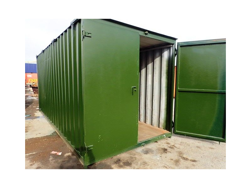 CONTAINER CONVERSION CASE STUDIES 18ft tool store CS33722 click to zoom image