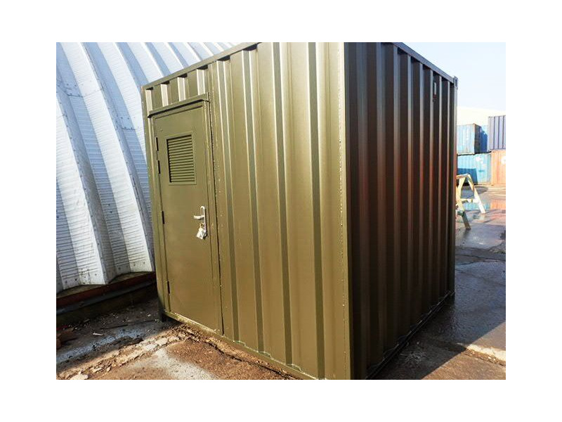 CONTAINER CONVERSION CASE STUDIES 8ft biomass energy unit CS29382 click to zoom image