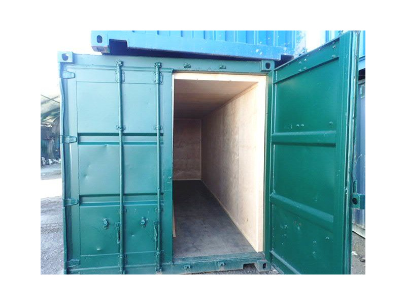 CONTAINER CONVERSION CASE STUDIES 2 x 20ft ply lined store CS34451 click to zoom image