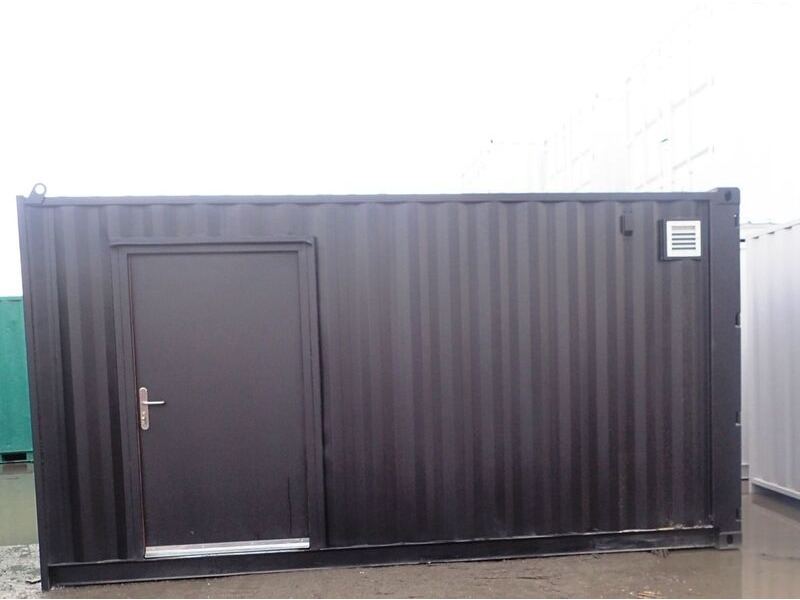 CONTAINER CONVERSION CASE STUDIES 16ft pizza oven house CS34402 click to zoom image