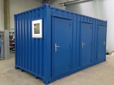 Shipping Container Conversions 16ft toilet block