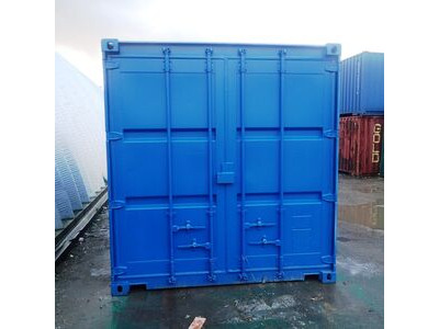 CONTAINER CONVERSION CASE STUDIES 12ft pump store
