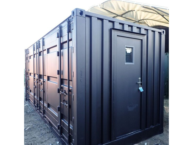 CONTAINER CONVERSION CASE STUDIES 20ft full side access CS33825 click to zoom image