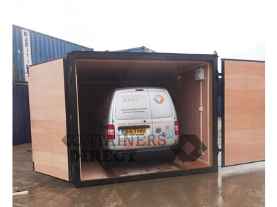 Shipping Container Conversions Garage unit 15ft x 10ft